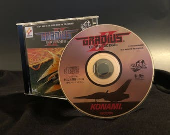Gradius II Reproduction for the Turbo Duo or Turbografx CD