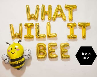 What Will It Bee Baby ShowerWhat DecorationsGender Reveal