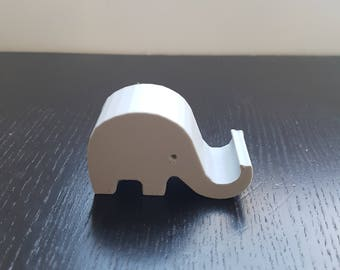 Cute elephant phone holder, cell pone stand, iphone stand cell phone holder, iphone holder, smartphone holder, smartphone stand, phone