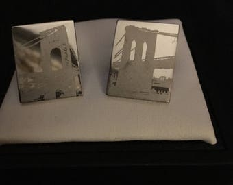 Kenneth Cole City Scape Cufflinks