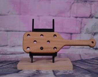 spanking paddle 8 hole