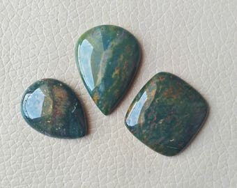 Natural Bloodstone Hand Polish 88 Carat Gemstone, Wholesale Gemstone Cabochon, Beautiful Natural Bloodstone Gemstone, Jewelry Supplies Stone