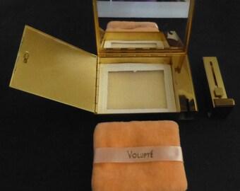Unused Vintage Volupt'e Compact for Powder and Lipstick