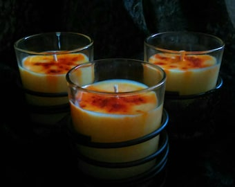 Orange Essential Oil Hand Poured 100% Soy Candle