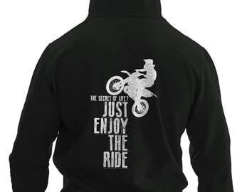 Motocross Quote Hoodie #R