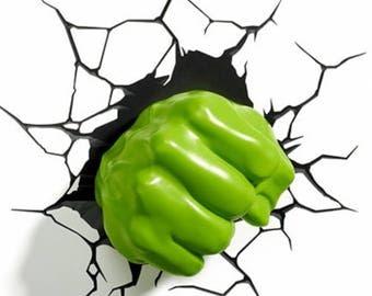 Hulk Hand Digital Print