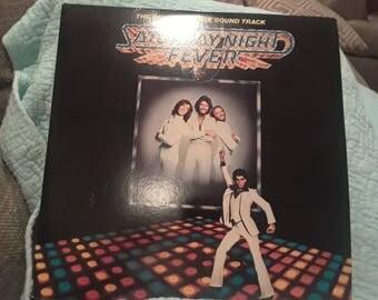 Saturday Night Fever vinyl record