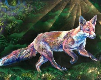Foxy Loxy - Fox Print