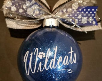 Christmas Ornament for the Wildcat fan - go CATS!!