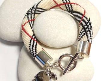 Bracelet pattern burberry