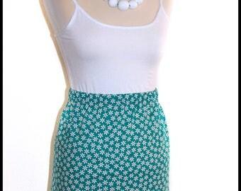 Handmade 60s style Mini skirt.