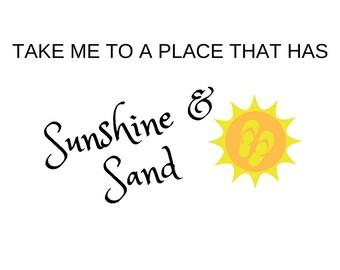 Sunshine and Sand Mug