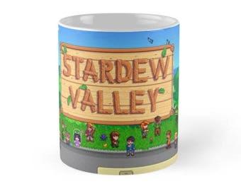 11/15 oz Stardew Valley Bus Mug, Stardew Valley Bus Mugs, Stardew Valley Mugs with Sayings, Stardew Valley Game Mugs, Stardew Valley Gifts