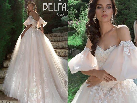 wedding dress ball gown off shoulder