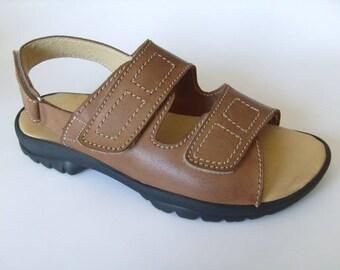 Men's handmade sandals in genuine leather