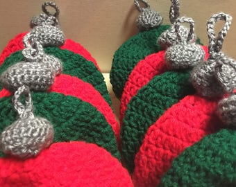 Holiday Infant Ornament Hats