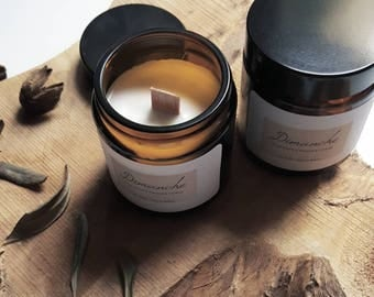 """Candle """"Sunday"""" made in France soy wax"""