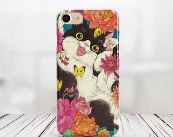 Cat Iphone X Case Iphone 7 Plus Case Iphone 8 Case Iphone 8 Plus Case  Iphone 7 Case Animals Case Iphone SE Case Iphone 6 Case Iphone Case