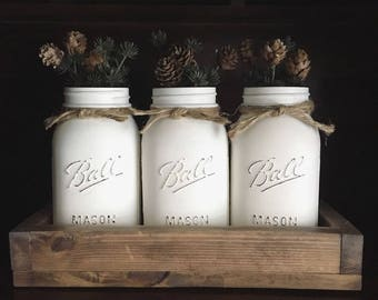 Farmhouse Mason Jar Set
