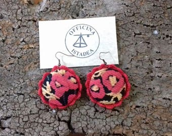 Errings Handmade Crochet Earrings unbuttoned Collection