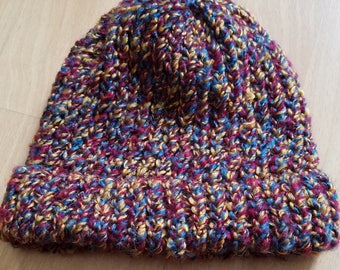 Multicolored Beanie Hat
