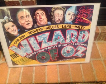 The Wizard of Oz 1939 Movie Poster 20x28 Reprint PORTAL PUBLICATIONS #M081 USA Litho