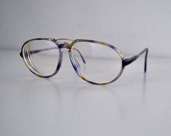 Rodenstock women's glasses, Nathaly 65.91 pa B, lilac/yellow/crystal clear/gold