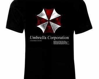 Inspired By Resident Evil Umbrella Corporation T-Shirt