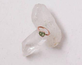 Natural Peridot Ring, Raw Peridot, Peridot Ring, Gemstone Jewelry, August Birthstone, Gemstone Ring, Boho Ring, Bridesmaid Gift, Boho