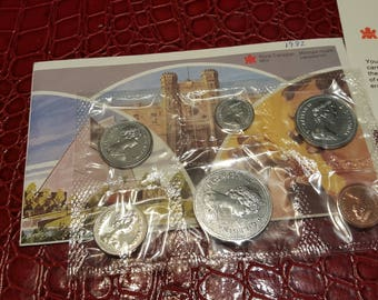 1982 Canada Proof-Like Coin Set By Royal Canadian Mint