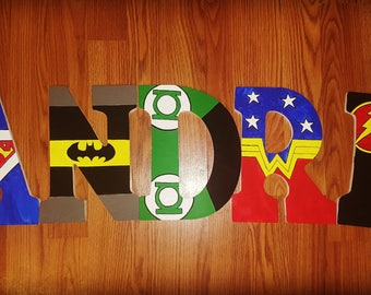 DC Marvel Letters