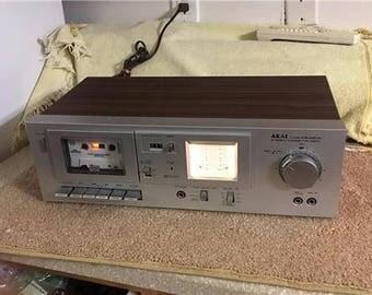 Akai CS-M01A Stereo Cassette Deck.
