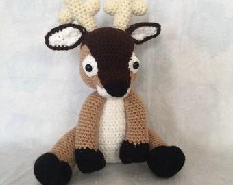 Donald the crochet deer