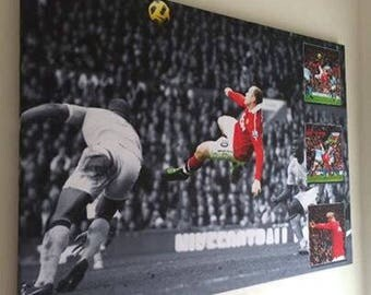 Wayne Rooney Overhead Kick Canvas