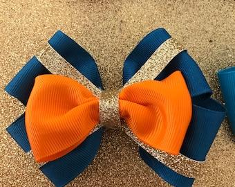 Merida inspired hair bow
