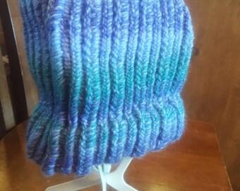 Knitted Ponytail/Messy Bun Cap