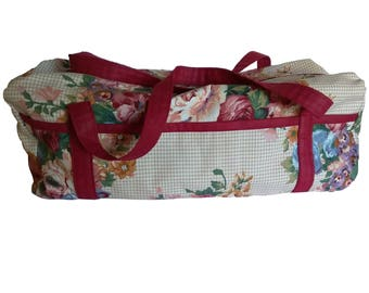 Cricut, Silhouette, Brother Cutting machine Duffle Style Carrying Case