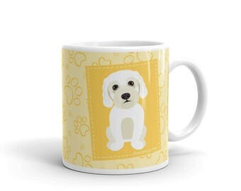 Dog Lover's Mug - Gift for Maltese Lovers - Maltese Paws - Coffee Drink Mug