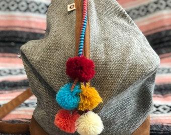 Alpaca Wool Backpack