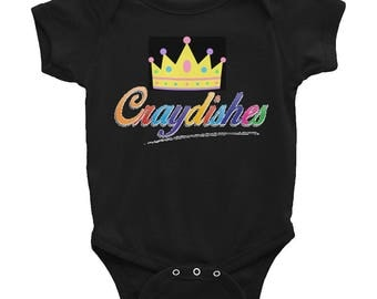 craydishes crown Infant Bodysuit