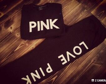 Women's custom made Pink Set