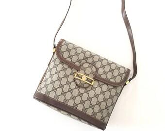 Vintage Gucci GG pattern Crossbody bag