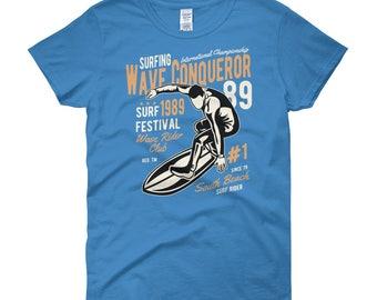 Wave Rider Women's short sleeve t-shirt