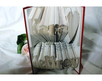 Double layered book folding - Two names - Two words
