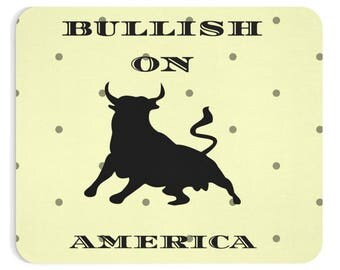 WALLSTREET CREATIONS - BULLISH On America  - Mug 11 Oz - gift