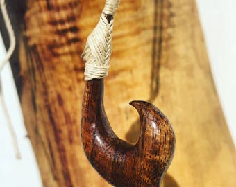 Genuine Koa Hawaiian Hook