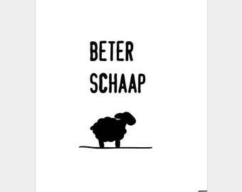 Card better Sheep (betterness)