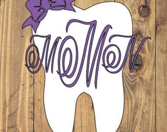 Big Tooth Monogram