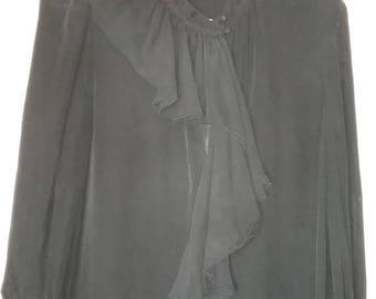 BCBG Maxazria black blouse