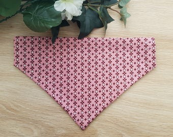 Poppy Bandana | Over Collar Bandana | Dog Bandana | Cat Bandana | Pawpaw & Co Bandana